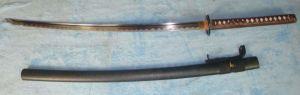 Blunt Steel Iaito with Deep Bohi