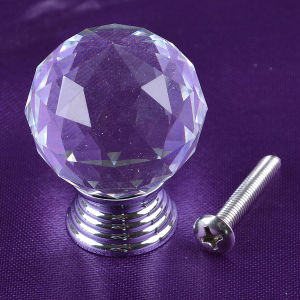 40mm Factory Clear Crystal Glass Ball Cabinet Drawer Door Knob pictures & photos