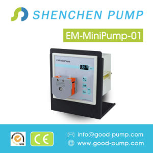 Exported Step Motor Small OEM Peristaltic Pump, Stylish DC 12V Dosing Peristaltic Pump Tubing pictures & photos