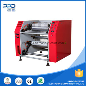 High Quality Professional Semi-Auto Pallet Stretch Film Slitter Rewinder pictures & photos