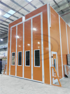 Wld-RS High Quality Transformer Spray Booth with Roof Open/ Roof Slot pictures & photos