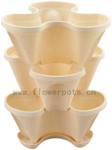 Vertical Decoration Flower Pot (KD3321) pictures & photos
