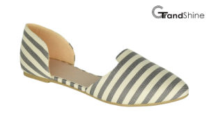 Women′s Flat Pointed-Toe Ballet Shoes pictures & photos