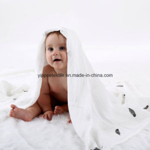 More Thicker 70%Bamboo 30%Cotton Muslin Swaddle pictures & photos
