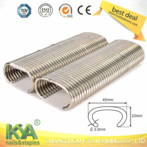 C45 Stainless Steel Hog Ring Staple pictures & photos