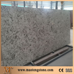 Silver Star White Quartz Countertop Slabs Chinese Supplier pictures & photos