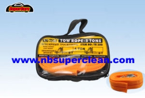 Nylon Emergency Tool Car Tow Rope Auto Trailer Tow Fluorescent Traction Rope Stretch Rope Tow Strap pictures & photos