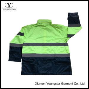 Hi Vis safety Jackets Pants Workwear Mens Reflective Rain Suit pictures & photos