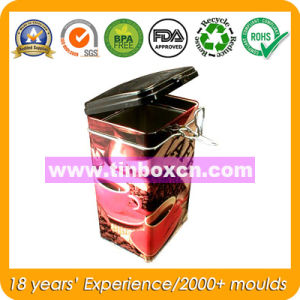 Airtight Tin for Coffee and Tea, Food Tin Box pictures & photos
