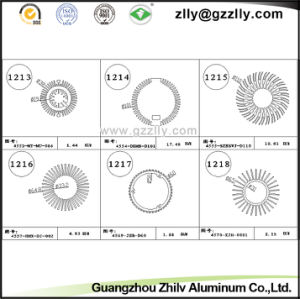 Guangdong Aluminum Pin Fin Cooler/Heatsink/Radiator pictures & photos