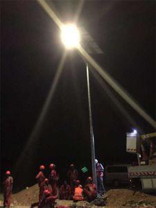 Best Price 12m 100W Bridgelux Solar Street Light System pictures & photos