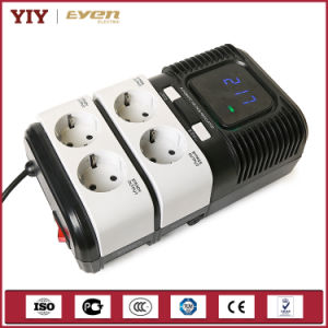 Hot Socket Type Automatic Voltage Regulator with Surge Protection pictures & photos