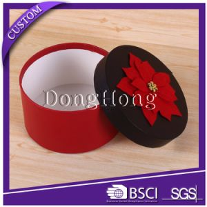 Promotional Elegant Handmade Decorative Round Paper Box pictures & photos