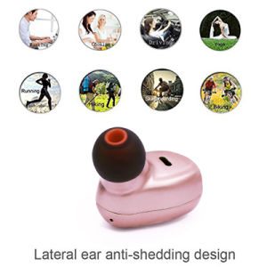 Rose Gold Impact Small True Wireless Bluetooth Earphone pictures & photos