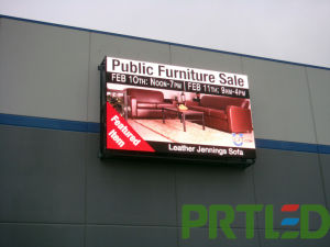 Front Opened Full Color Outdoor SMD P6 LED Screen/LED Sign pictures & photos