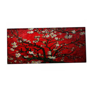 890X400mm Red Flower Extended Wide Large Gaming Mouse Pad Mat Big Size Desk Mat pictures & photos