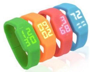 LED Watch USB Flash Drive Silicone Memory Stick Wristband Pendrive pictures & photos