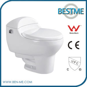 Two Piece Ceramic Toilet for Sale pictures & photos