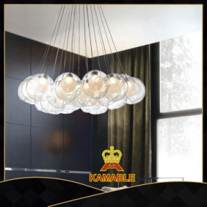 Italian Style Lighting Chandeliers Blow Glass Ball Pendant Lamps (KA10570-37-150) pictures & photos