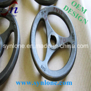 Shell Mold Sand Casting Grey Iron Handwheel pictures & photos