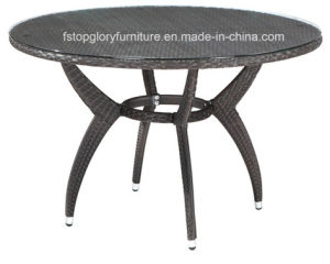 Garden PE Rattan Wicker Dining Table and Chair for Outdoor Furniture (TG-1031) pictures & photos