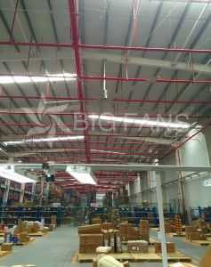 Bigfans 1.5kw 7.4m/24.3FT Diameter Big Industrial Ceiling Fans for Ventilation pictures & photos