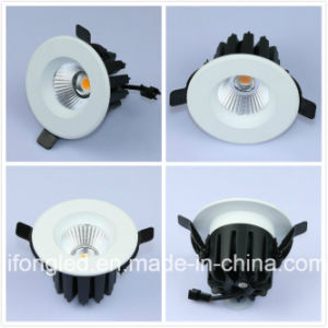 AC85-265V Recessed Houses Lighting Beam Angle 38d COB Downlight LED 11W pictures & photos