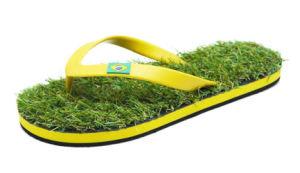 Promotional Summer Grass Flip Flops