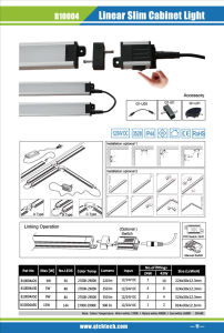 Super Slim 9W Connectable LED Light Bar as Cabinet Lighting pictures & photos