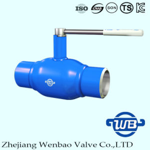 Fully Welded Ball Valve with Floating Ball for Nature Gas pictures & photos