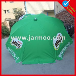 Silk-Screen Printed Custom Logo Outdoor Umbrella pictures & photos