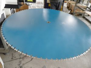 1500mm Tapered U Diamond Wall Saw Blade pictures & photos