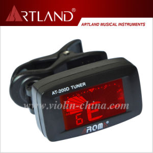 Chromatic, Guitar, Violin, Ukulele, Bass Tuner (AT-200D) pictures & photos