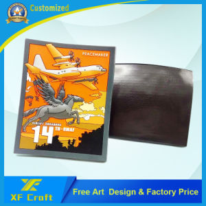 Cheap Custom 2D PVC Rubber Fridge Magnet with Any Design (XF-FM07) pictures & photos