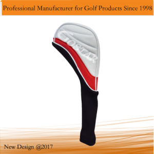New Design White PU Leather Golf Headcover pictures & photos