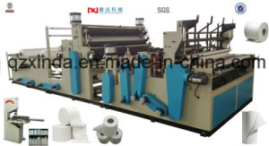 Rewinding and Perforating Kitchen Paper Tissue Machine pictures & photos