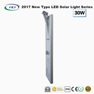 2017 New Type All-in-One Solar LED Garden Light 30W pictures & photos