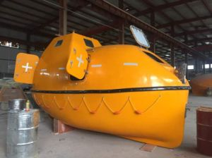 Marine Lifesaving 26persons Enclosed Life Boat/Rescue Boat and Platform Davit pictures & photos