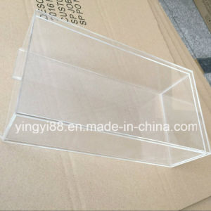 Yyb Clear Acrylic Shoe Box with Slide out Drawer pictures & photos