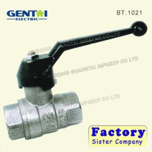 1/2-4 Nickel Plated Plumbing Brass Ball Control Valve pictures & photos