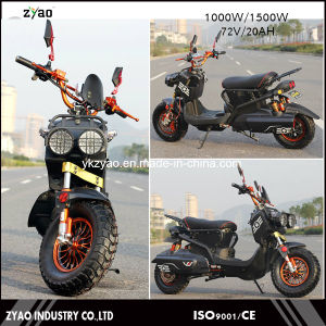 2017 Modern Design Factory Price 60V 20ah Silicon1500watt EEC Electric Scooters 1500 Watts pictures & photos