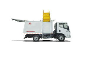 5 L Side Load Garbage Truck pictures & photos
