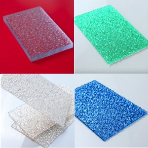 Embossed Sheet Polycarbonate Sheet for Indoor Decoration pictures & photos