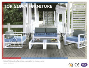 New Design Outdoor Patio Furniture Aluminum Sofa Set Sea Side Sofa (TG-063) pictures & photos