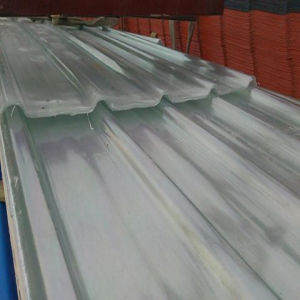 Beautifual View Clear Corrugated FRP Roofing Sheet, Clear FRP Roofing Sheet pictures & photos