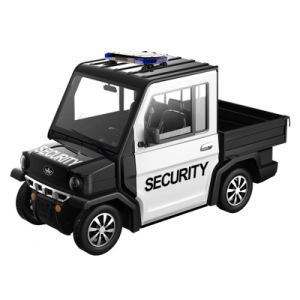 2 Seater Hybrid Police Car for Security pictures & photos
