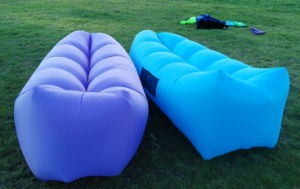 Outdoor Nylon Inflatable Air Couch (S111) pictures & photos