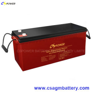 Rechargeable Solar Gel Battery 12V200ah for High Temperature Power Use pictures & photos