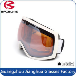 Newest Style Cheap Foam Padded Outdoor Motorcycle Snowmobile Snow Ski Goggles pictures & photos