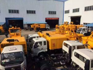 Ding Feng Machinery Large Volume Truck Mounted Concrete Delivery Pump pictures & photos